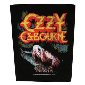 patch large OZZY OSBOURNE - BARK AT THE MOON - RAZAMATAZ, RAZAMATAZ, Ozzy Osbourne