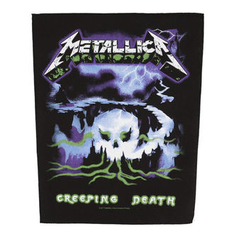 patch large METALLICA - CREEPING DEATH - RAZAMATAZ, RAZAMATAZ, Metallica
