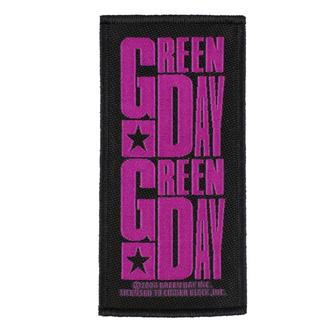 patch GREEN DAY - PURPLE LOGO - RAZAMATAZ - SP2922