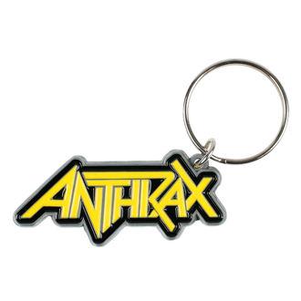 Keyring pendant ANTHRAX - LOGO - RAZAMATAZ, RAZAMATAZ, Anthrax