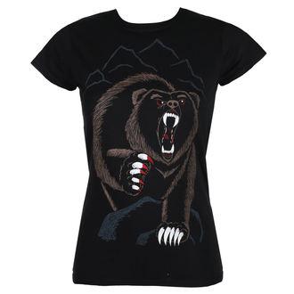 t-shirt hardcore women's - BEAR NECESSITIES - GRIMM DESIGNS, GRIMM DESIGNS