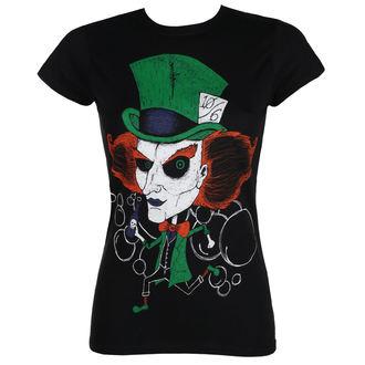 t-shirt hardcore women's - MAD HATTER - GRIMM DESIGNS, GRIMM DESIGNS