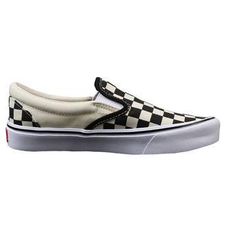 low sneakers men's - UA SLIP-ON LITE (CHECKERBOARD) - VANS