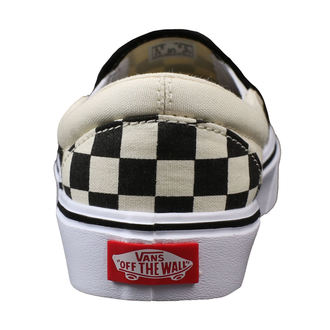 low sneakers men's - UA SLIP-ON LITE (CHECKERBOARD) - VANS