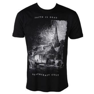 t-shirt men's - Faith is Dead - BLACK CRAFT, BLACK CRAFT