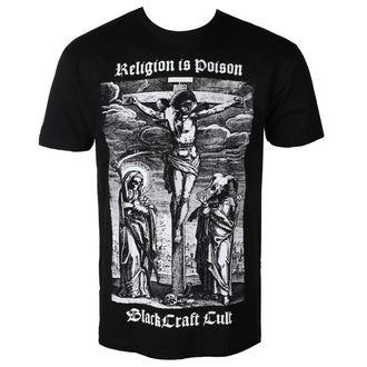 t-shirt men's - Religion is Poison - BLACK CRAFT, BLACK CRAFT