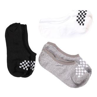 Children-sized ankle high socks VANS - WM 1-6 3PK BSC ASSOR Multi, VANS