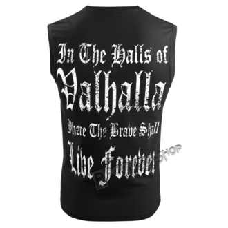 Top Men's VICTORY OR VALHALLA - I AM A WARRIOR, VICTORY OR VALHALLA