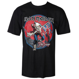 t-shirt metal men's Iron Maiden - Trooper - ROCK OFF - IMTEE71MB