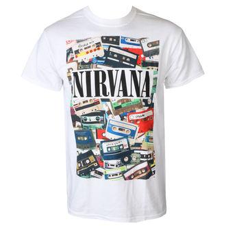 t-shirt metal men's Nirvana - CASSETTES - PLASTIC HEAD, PLASTIC HEAD, Nirvana