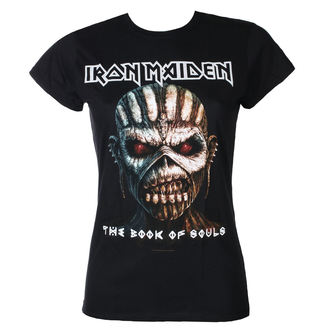t-shirt metal women's Iron Maiden - Book Of Souls - ROCK OFF - IMTEE44LB
