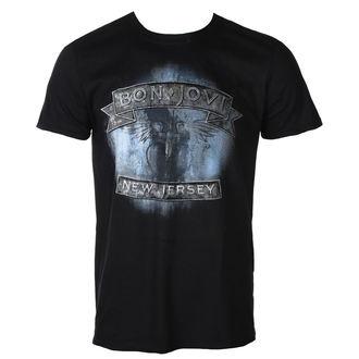t-shirt metal men's Bon Jovi - NEW JERSEY - PLASTIC HEAD, PLASTIC HEAD, Bon Jovi