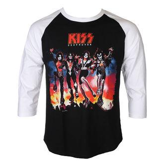 t-shirt metal men's Kiss - DESTROYER - PLASTIC HEAD, PLASTIC HEAD, Kiss
