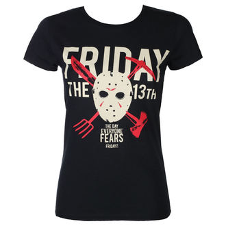 film t-shirt women's Friday 13th - DAY OF FEAR - PLASTIC HEAD, PLASTIC HEAD