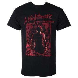 film t-shirt men's Noční můra z Elm Street - FREDDY SILHOUETTE - PLASTIC HEAD, PLASTIC HEAD