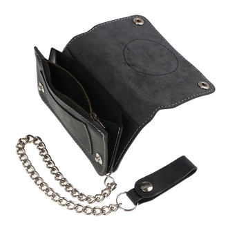 Wallet BLACK HEART - BABY BOY - BLACK, BLACK HEART