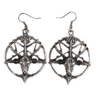 Earrings Baphomet