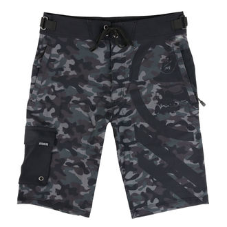 Shorts Men (swim shorts) METAL MULISHA - SNARE - BLK, METAL MULISHA