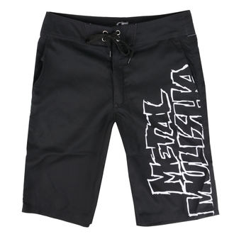 Shorts Men (swim shorts) METAL MULISHA - SQUAD - BLK, METAL MULISHA