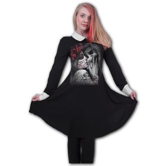 Women's dress SPIRAL - DEAD KISS - PeterPan, SPIRAL