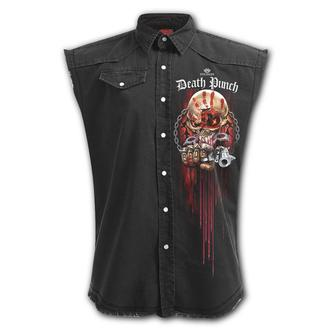 Men's Sleeveless Shirt SPIRAL - Five Finger Death Punch - ASSASSIN, SPIRAL, Five Finger Death Punch