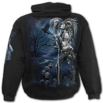 hoodie men's - RAVEN QUEEN - SPIRAL, SPIRAL