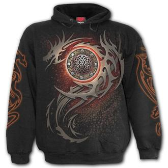 hoodie men's - DRAGON EYE - SPIRAL