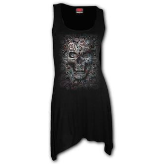 Women's dress SPIRAL - SKULL ILLUSION, SPIRAL