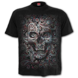 t-shirt men's - SKULL ILLUSION - SPIRAL - T159M121