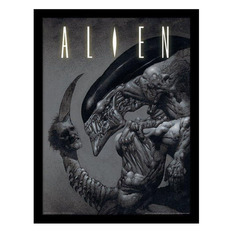 Framed poster Alien - Vetřelec - Head on Tail - PYRAMID POSTERS, PYRAMID POSTERS, Alien - Vetřelec