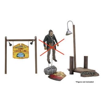 Accessory set Friday the 13th - Camp Crystal Lake