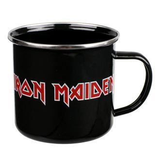 Enamel Mug Iron Maiden - Logo, Iron Maiden