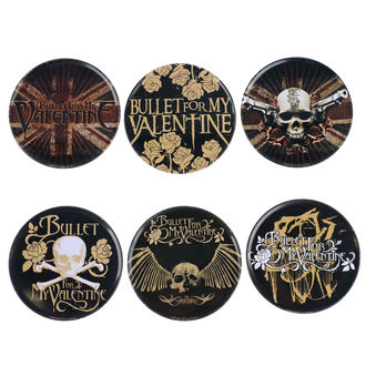 Beer coasters Bullet For My Valentine, Bullet For my Valentine