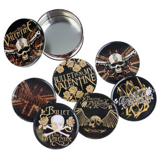 Beer coasters Bullet For My Valentine, NNM, Bullet For my Valentine