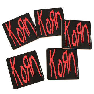 Coasters KORN - ROCK OFF, ROCK OFF, Korn