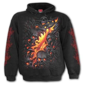 hoodie men's - SKULL LAVA - SPIRAL, SPIRAL
