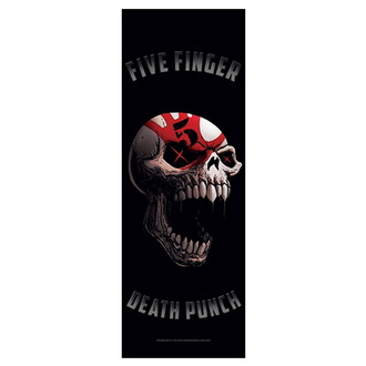 Flag Five Finger Death Punch - Speech Skull, HEART ROCK, Five Finger Death Punch