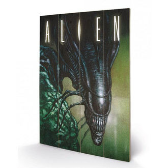 Wooden painting Alien - (Creep) - PYRAMID POSTERS, PYRAMID POSTERS, Alien - Vetřelec