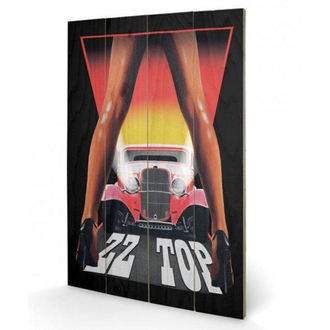 Wooden painting ZZ Top - (&&string0&&) - PYRAMID POSTERS, PYRAMID POSTERS, ZZ-Top