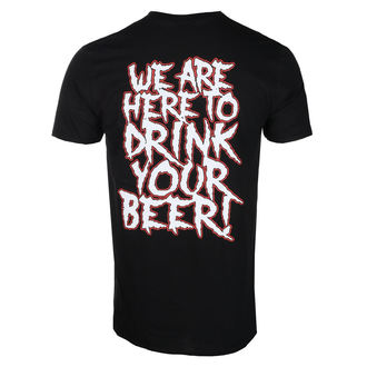 t-shirt metal men's Alestorm - WE ARE HERE TO DRINK YOUR BEER! - PLASTIC HEAD - PH10831