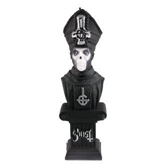Candle GHOST - PAPA EMERITUS - BLACK MATT - PLASTIC HEAD, PLASTIC HEAD, Ghost