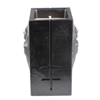 Candle MARILYN MANSON - BLACK METALLIC - PLASTIC HEAD, PLASTIC HEAD, Marilyn Manson