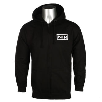 hoodie men's Nine Inch Nails - CLASSIC WHITE LOGO - PLASTIC HEAD, PLASTIC HEAD, Nine Inch Nails