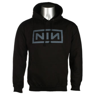hoodie men's Nine Inch Nails - CLASSIC GREY LOGO - PLASTIC HEAD, PLASTIC HEAD, Nine Inch Nails