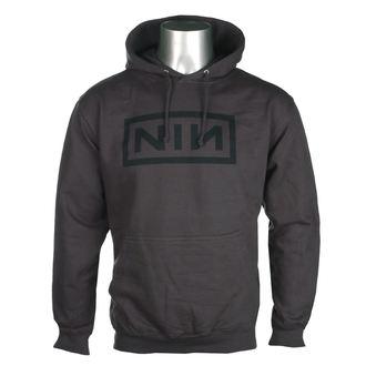 hoodie men's Nine Inch Nails - CLASSIC BLACK LOGO - PLASTIC HEAD, PLASTIC HEAD, Nine Inch Nails