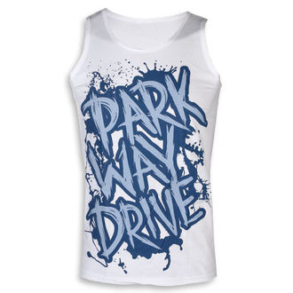 Men's tank top Parkway Drive - Blue Logo - White - KINGS ROAD, KINGS ROAD, Parkway Drive