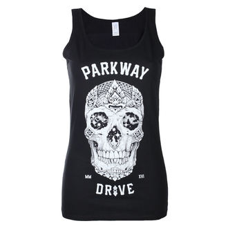 Women's tank top Parkway Drive - Skull - Black - KINGS ROAD - 20102257