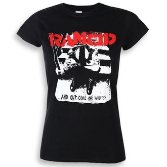 t-shirt metal women's Rancid - And Out Come The Wolves - KINGS ROAD, KINGS ROAD, Rancid