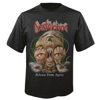 t-shirt metal men's Destruction - Release from agony 30 years - NUCLEAR BLAST, NUCLEAR BLAST, Destruction