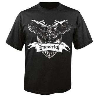 Metal T-Shirt men's Immortal - Crest - NUCLEAR BLAST - 24689_TS
